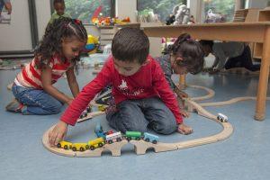voorschool spelen trein